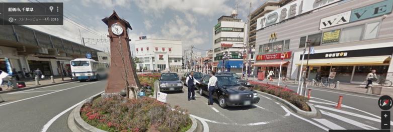 下総中山駅ロータリー